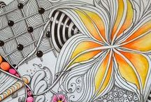 * Zendoodles * / Tangle and Doodle inspiration and tutorials / by IZZY BLEU ☼