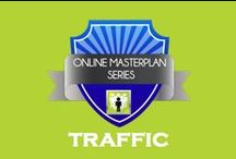 Traffic Creation and Conversion / Our strategy, marketing and design professionals help you identify market opportunities and assemble the business engine to deliver long-term sales growth. / by Online Masterplan Series
