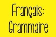 Français : Grammaire