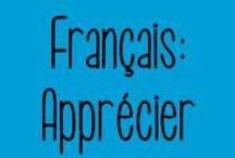 Français : Apprécier