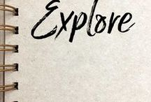 Explore / travel, RV life, van life, camping, hiking, outdoors, nature