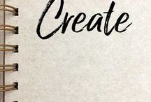 Create / Unleash your creativity! Drawing, painting, sculpture, art and craft