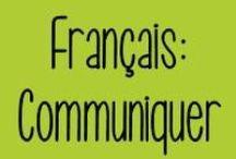 Français : Communiquer oralement