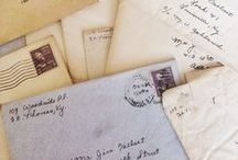 Postcards and letters