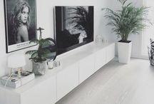 • Vardagsrum / Ideas for livingroom with dining area