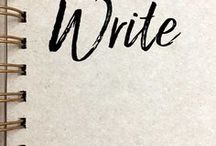 Write / writing, journaling, diary, handwritten letters