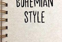 Bohemian Style / boho style,bohemian decor,ethnic decor,home decorating inspiration,interior design