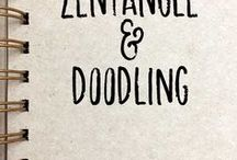 Zentangle and Doodling / zentangle,doodling,drawing,doodles