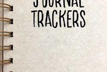 Journal Trackers / bullet journal trackers,planners,bujo trackers,habit trackers