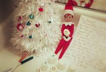 Karen's Elf On A Shelf Ideas / Everyones favorite little Elf hiding here, there and everywhere....where can you find him today? / by Karen Lawrence