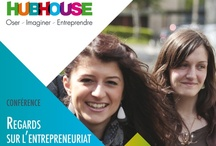 Entrepreneuriat au féminin / by Maison Entrepreneuriat