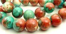 Gemstone Beads / Gorgeous gemstone beads in various shapes and sizes!  Enjoy!