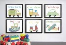 Kids Room - Wall Hangings