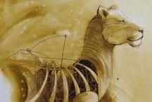 Mecanics animals painting