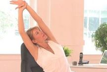 Yoga at Work / Chair yoga and practices for staying healthy while at work