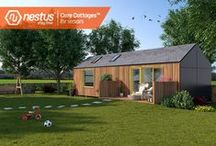 Nestus Care Cottages / Nestus Care Cottages™ are built in your garden within days, providing safe, quality independent-living for parents or elderly relatives.  Designed and tested in collaboration with care professionals, each Care Cottage™ weaves together independent living support, safety monitoring and recreational facilities, empowering seniors to help themselves.