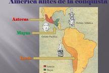 Cultura precolombina / Imágenes relacionadas con los pueblos mayas, aztecas e incas