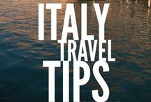 Travel Tips when in Italy / Tips for travelling when in Italy. From lodging, food, what to sight-see to what kind of souvenirs to buy etc. #italy #traveltips