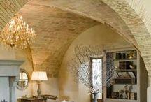 Rustic Italian Charm Decor / The rustic charm of Italian decor at its best. #rustic #charm #decor #interior #italiancharm #italiandecor