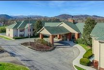 Relax at All Season Suites / We are located right off the main Parkway in Pigeon Forge, away from the hustle and bustle, but close enough for you to experience the fun things to do. Plus, you won't want to miss the incredible views of the Smoky Mountains!