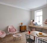 Projects • Vienna apartment • Louis Poulsen / Project by: Louis Poulsen  Architects: Kombinat.  Photography: Janez Marolt.