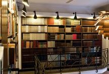 Project • Paludans Bookstore & Café • Copenhagen, Denmark • Louis Poulsen / Photographer: Jesper Ray.  Products: PH Artichoke & AJ Wall.   Project by Louis Poulsen in collaboration with Paludans Bookstore in Copenhagen.