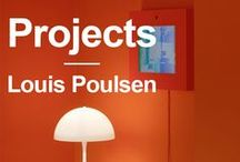 Projects • Panton House • Louis Poulsen / Pictures fra the unique and colorful Panton House in Hamburg, Germany.