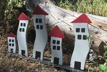 Wood Little Shop / Handmade wood decoratives