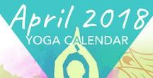 Monthly Yoga Calendar / Every month we release a themed calendar with links to a different practice every day. Use it to keep your yoga feeling fresh, find a new favorite class, or track your practices.