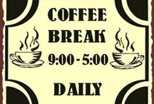 ☺ I love coffee ☺ / ....PS...pop into our Showroom and we will put the kettle on!