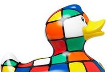 We love ducks at Rothwell Tiles:) / Pop in to the shop, have a browse with a cuppa and you'll find out why ;)