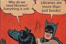 Library Humor / Amusing library pins