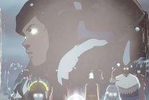 Legend of Korra/Last Airbender / All things from the Avatar world, I ship Makorra and Kataang. Korra is my favorite character. / by Rebecca Gerbrandt