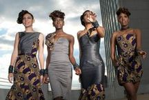 Afrofusion / Ankara, Brocade, Lace, Wax Print, African Material Clothes and Accessories.