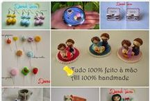 Our Handsculpted Work / Here we're gonna show our polymer clay creations. Everything is 100% handmade and can be customized.