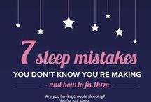 Because your sleep matters... / Fun images, tips, tricks and information about sleep