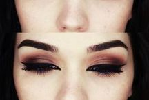 makeup // / Eyes, Mouth, Ideas, Eyeliners, Products