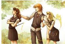 Harry Potter / GRYFFINDOR PRIIIIIDE!!!!! / by Rachelle Beaudoin