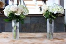 Jars & Vases / Put your flowers in them, put your air plants in them, or use them as extra large drinking glasses!
