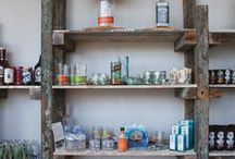 Upcycled Wood Furnishings / Rustic and Rugged pieces that will add character to any space.