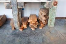 Wood Serving Ware / Upcycled wood crafted by local artisans for you to serve in your chic home environment.