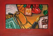 Painting picture / Painting picture  Oil Canvas Tempera Aquarelle Pastel Gioconda Paper