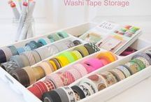 Craft World / It's all about craft things ; from Washi tape, cute stickers to pattern paper. Anything!