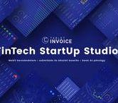 Tablet Invoice FinTech B2B Apps / Online Mobile Business Productivity Applications (IA/UI/UX) Online mobil üzleti produktivitás alkalmazások (IA/UI/UX). Tablet Invoice FinTech B2B Apps