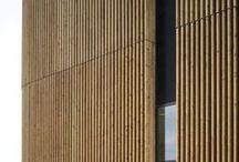 Архитектура   фасад   рейки