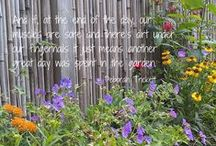 Gardening Quotes / Amazing plants. Inspired designs. And the process of putting it all together. It's not only what we do. It's what we love. And if, at the end of the day, our muscles are sore and there's dirt under our fingernails it just means another great day was spent in the garden. - Deborah Trickett, The Captured Garden