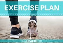 Exercise Plan / Stay updated on exercises that would get your body and muscles toned to your desired goal. Learn specific exercises for your body type. No need to go to the gym, all you need are the right exercise routines you can do in your home.