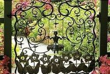 Wrought Iron Art  / by M. F. Romero