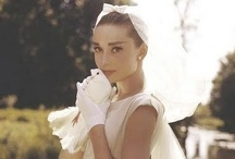 Audrey Hepburn / Audrey Hepburn is my all time favorite actress, she is just so sweet, feminine and elegant.