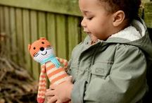 Kid's Toys / Adorable stuffed animal playmates and finger puppets made with love by Fair Trade artisans